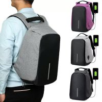 Tas Ransel USB port charger,Smart Backpack Anti Air Ant Limited