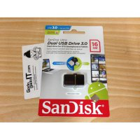 USB OTG Flashdisk SanDisk Ultra Dual Drive USB 3.0 16GB Speed 130MB/s