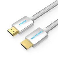 Vention AAB 1.5M - Kabel High Speed Cotton Braided HDMI v2.0 4K