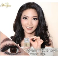 New Softlens Avenue Fx Brown -Original 100%-Terlaris