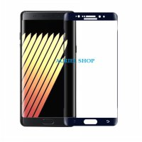 Tempered Glass Samsung Galaxy Note 7 List Grey Full Layar (Clear) Screen Protector