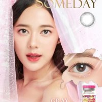 New Original Softlens Mini Someday Brown Kitty Kawai Soflens Softlenses -Original 100%-Terlaris
