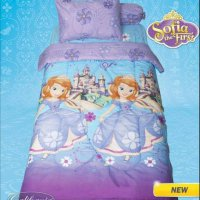 California Sofia castle Sprei 120x200x20