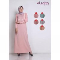 Promo Gamis Renda Fancy elzatta Limited