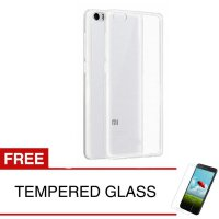 Case for Xiaomi Mi Note Pro 5.7' - Clear + Gratis Tempered Glass - Ultra Thin Soft Case