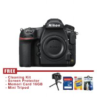 Nikon D850 Body Only - Hitam - FREE Accessories