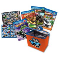 [HelloPanda] Hot Wheels Lunch Bag Set with 4 Books & Fun Stickers