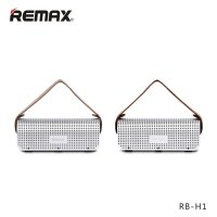 Remax 2 in 1 Desktop Speaker Bluetooth H1 + Power Bank 8800 mAh SILVER