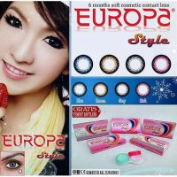 Softlens EUROPA - STYLE (4 Pilihan Warna) Softlens for Asian Fit