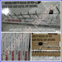ANTENA LUAR PF DIGITAL HD-U25 SUPER HIGH GAIN DIGITAL UHF (model YAGI)