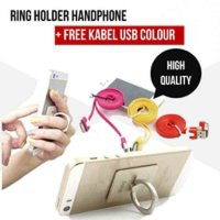 RING HP / RING HOLDER HANDPHONE / IRING HP + KABEL USB (HIGH QUALITY)