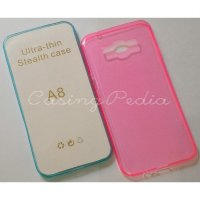 Samsung Galaxy A8 A800 Ultra Thin Soft Shell Case