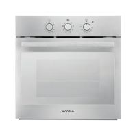 MODENA BO 2634 SPIRITO - Oven Tanam Built-In Electric Oven 60 cm - Stainless Steel