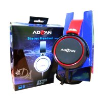 Headset Stereo Advan Mh-004 Mic