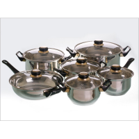 Panci set Vicenza V612 - stainless cookware V-612