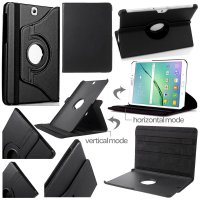 Samsung Galaxy Tab S2 9.7 T810 T815 - 360 Rotary Leather Case Casing Cover Flip