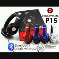 Headset Bluetooth Beats Shape-P15 + Slot Micro Sd Termurah09