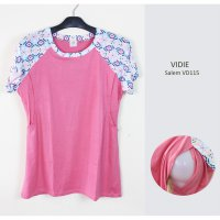 Just Mom baju menyusui Vidie Salem VD115