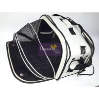 Tas Kucing Anjing 3 in 1 Tas Ransel Oval Happy Pet Expandable 45x30x35cm C01129