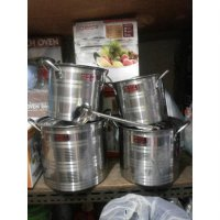 PANCI STAINLESS (STOCK POT) ROSH ISI 4