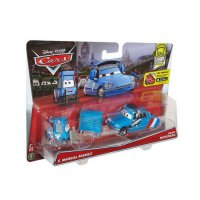 Mattel Disney Cars E. Manual Maniez and Chief Bruno Die Cast - Biru