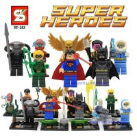Lego Super Hero Superhero Avengers SY 283 SY283 Superman Batman (8 Box)