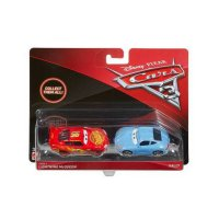 Mattel Disney Cars 3 McQueen and Sally Die Cast (1:55) - Multi Colour