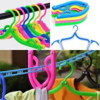 Hanger Lipat Portable Gantungan Jemuran Baju Travel Foldable Simple
