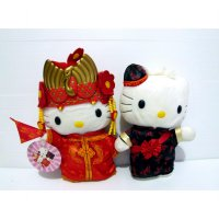 Boneka Hello Kitty Daniel Original Official MCD Chinese Wedding Couple