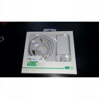 USB Charger OPPO VOOC Flash Charge 4A Set [Adaptor + Kabel Data]