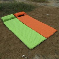 [globalbuy] Outdoor Travel Camping Mat Folding Tent Bed Sleeping Pad Inflatable Mattress P/3815715