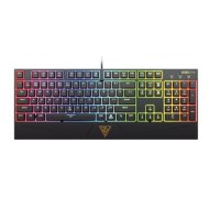 Gamdias Hermes Mechanical Keyboard RGB Blue Switch - Hitam