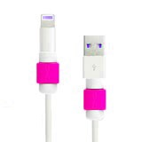 Lightning and Magsafe Saver USB Cable Protector - Pink