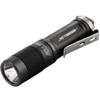 JETBeam Jet-I MK Tiny Flashlight Senter LED CREE XP-G2 480 Lumens - Black