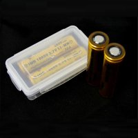 Waterproof Battery Case for 2x18650 / 4x16340 - Transparent