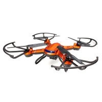 JJRC H12W Quadcopter Drone Wifi dengan Kamera 2MP 720P - Red