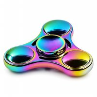 Rainbow Tri Fidget Spinner - Multi-Color