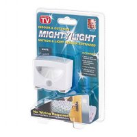 Mighty Light LED Motion Light Sensor Activated Lampu Nyala Otomatis