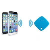 [globalbuy] Mini Bluetooth GPS Tracker Blue For Car Vehicle Baby Wallet Pet Dog Cat Finder/3792876