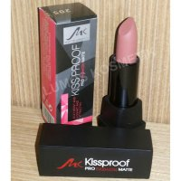 Kiss Proof No. 205 Model Lipstick Matte 100% Waterproof Longlasting 24hour