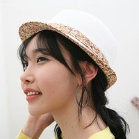 Pattern fedora hat casual hats casual cutie into beach vacation vacation hat straw fedora hat Dora L