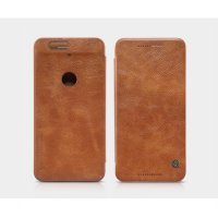 Nillkin Qin Leather Case for Huawei Nexus 6P Casing Cover Flip - Coklat