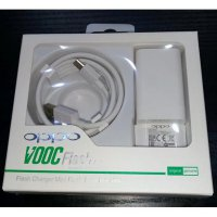 Charger OPPO VOOC 4A Set F1 Plus [ Adaptor 4A + Kabel Micro USB 7pin ]