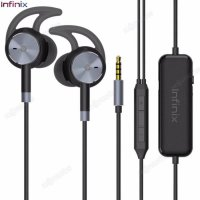 Infinix Earphone Noise Cancelling XE02 Original Murah