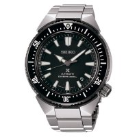 (Dijamin) Seiko Diver SBDC039J1 Transocean Automatic Black Dial Stainless Steel