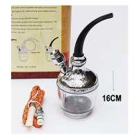 Pipa Filter Rokok Air CD 909 Gold/Water Pipe/Pipa Cangklong