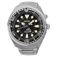 [High Quality] Seiko Prospex SUN019P1 Kinetic GMT Divers 200M