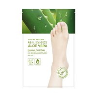 [Nature Republic] Real Squeeze Aloe Vera Moisture Foot Mask 17339