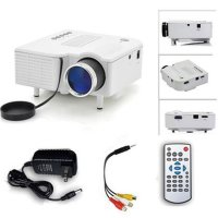Mini Portable HD LED Projector PC Laptop VGA USB SD AV HDMI /Proyektor