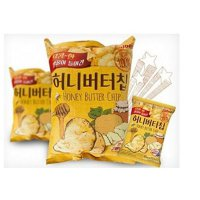3 Pcs Honey Butter Chip New Korea Potato Snack (60g X 3)